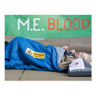 mitsis - ME Blood postcard