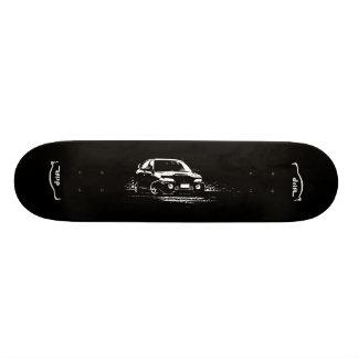Mitsubishi EVO 9 Custom Skateboard