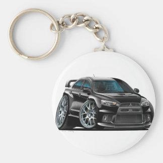 Mitsubishi Evo Black Car Keychains