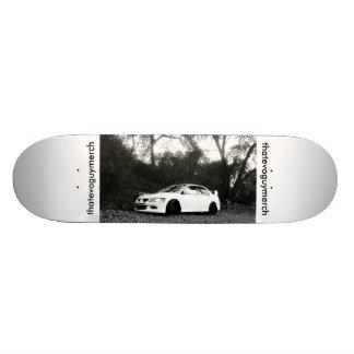 Mitsubishi Lancer Evolution 8 MR 20 Cm Skateboard Deck