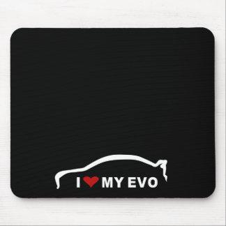 Mitsubishi Lancer Evolution X - I Love my EVO Mouse Pad