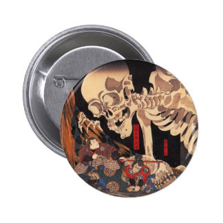 Mitsukuni Defying the Skeleton Specter 6 Cm Round Badge