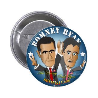 Mitt Fix It - Celebrate Success 6 Cm Round Badge