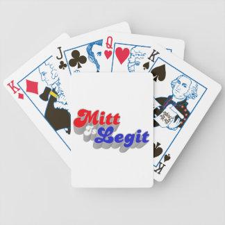 Mitt is Legit Playing Cards
