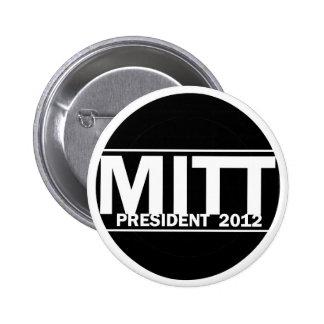 Mitt President 2012 6 Cm Round Badge