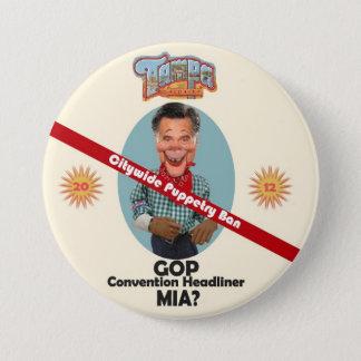 Mitt Puppet 7.5 Cm Round Badge