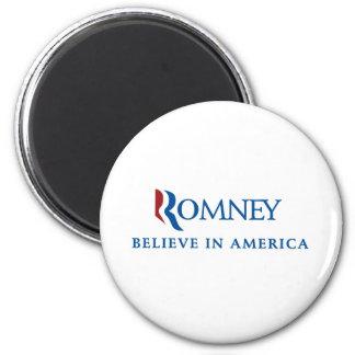 Mitt Romney 2012 6 Cm Round Magnet