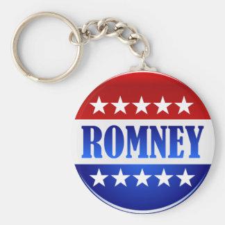 Mitt Romney 2012 Basic Round Button Key Ring