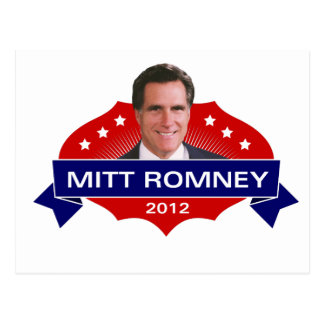 Mitt Romney 2012 for President Postcard