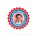 Mitt Romney 2012 for US President Post Cards