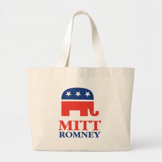 Mitt Romney 2012 Large Tote Bag