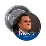 Mitt Romney 2012 - photo pinback Buttons
