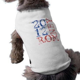 Mitt Romney 2012 Sleeveless Dog Shirt