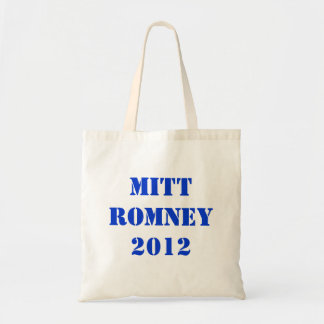 MITT ROMNEY 2012 BUDGET TOTE BAG