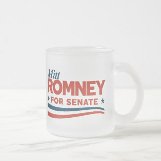 Mitt Romney 2018 Frosted Glass Coffee Mug