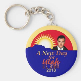 Mitt ROMNEY 2018 Senate Keychain
