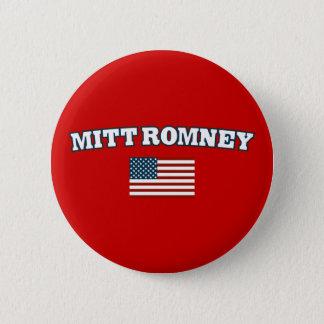 Mitt Romney America 6 Cm Round Badge