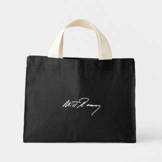 MITT ROMNEY AUTOGRAPH WHITE.png Tote Bag