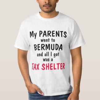 Mitt Romney Bermuda Tax Shelter T-Shirt