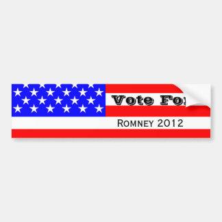 Mitt Romney Election Campaign Bumper Sticker