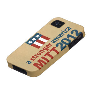 Mitt Romney for a Stronger America iPhone 4 Case