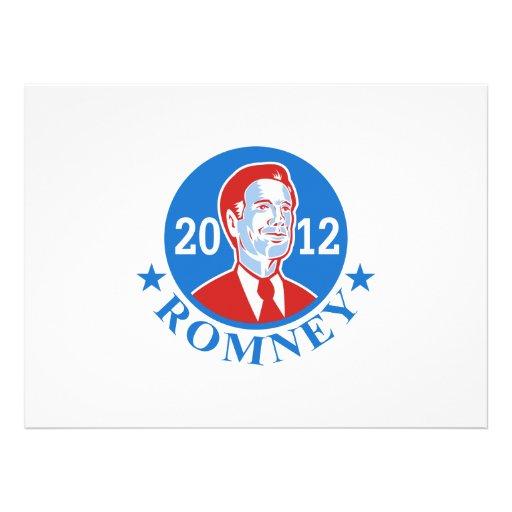 Mitt Romney For American President 2012 Invites