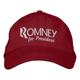 Mitt Romney for President 2012 Embroidered Hats