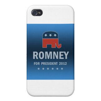 Mitt Romney For President 2012 iPhone 4 Cover
