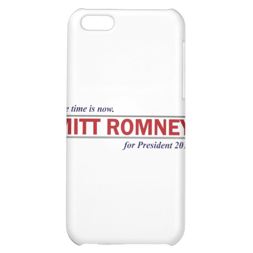 Mitt Romney for President 2012 The Time is Now Case For iPhone 5C
