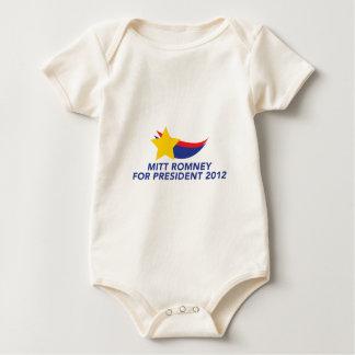 MITT-ROMNEY-FOR-PRESIDENT BABY BODYSUIT