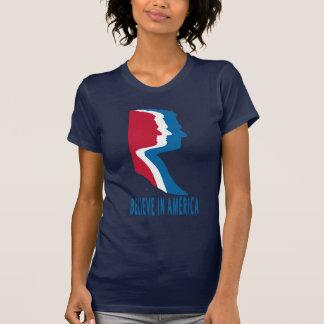 Mitt Romney For President 'Believe In America' T-Shirt
