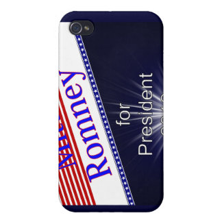 Mitt Romney For President Explosion iPhone 4/4S Covers