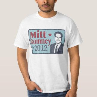 Mitt Romney for President faded Tshirt