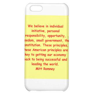mitt romney for president iPhone 5C cover