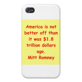 mitt romney for president iPhone 4/4S cover