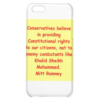 mitt romney for president iPhone 5C cases