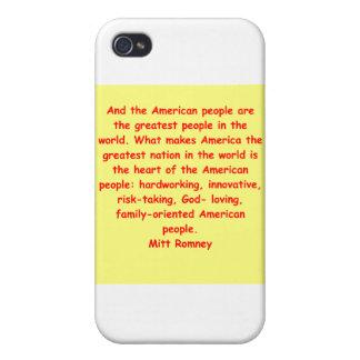 mitt romney for president iPhone 4 cover