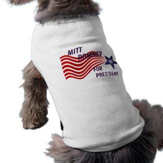 Mitt Romney For President Shooting Star Shirt