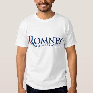 Mitt Romney for President Tshirts