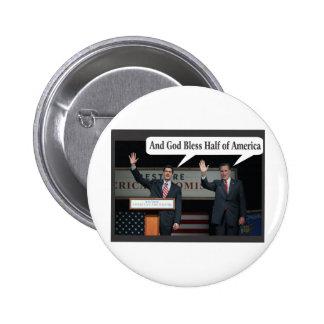Mitt Romney Hates you 47 Vote for Barack Obama Pinback Button