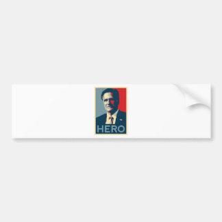 Mitt Romney - Hero Bumper Stickers