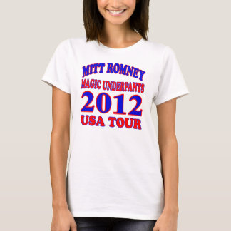 Mitt Romney MAGIC UNDERPANTS T-Shirt