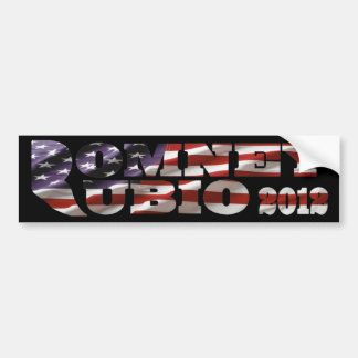 Mitt Romney Marco Rubio 2012 Bumper Sticker