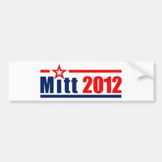 """Mitt Romney """"Mitt"""" 2012 Bumper Sticker"""