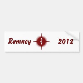Mitt Romney Outline Bumper Sticker
