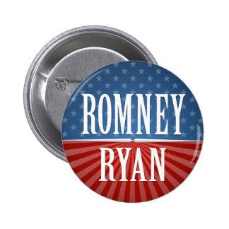 Mitt Romney Paul Ryan 2012 6 Cm Round Badge