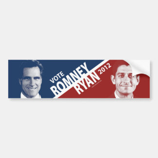 Mitt Romney Paul Ryan 2012 Bumper Sticker