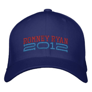 Mitt Romney Paul Ryan 2012 Embroidered Hat