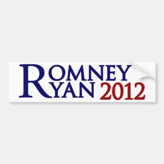 Mitt Romney Paul Ryan Car Bumper Sticker