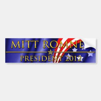 Mitt Romney President 2012 Bumper Sticker